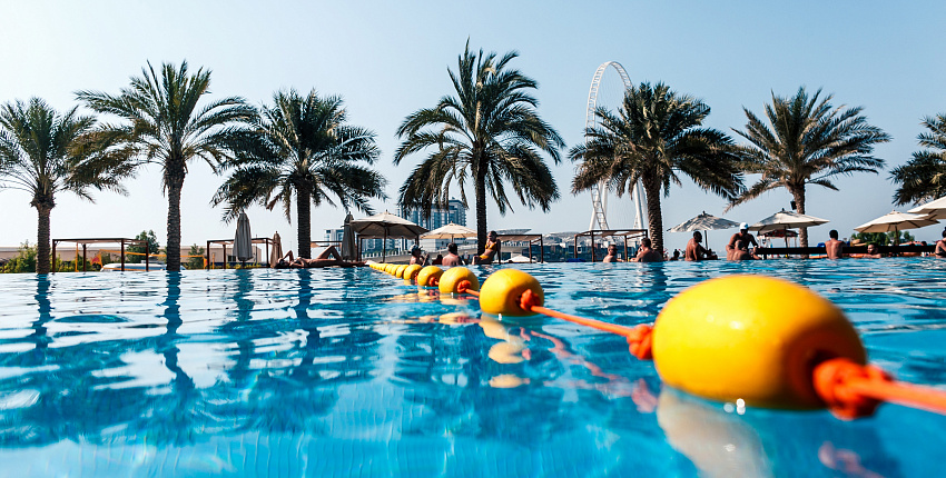 The greatest pool party at DoubleTree by Hilton Jumeirah