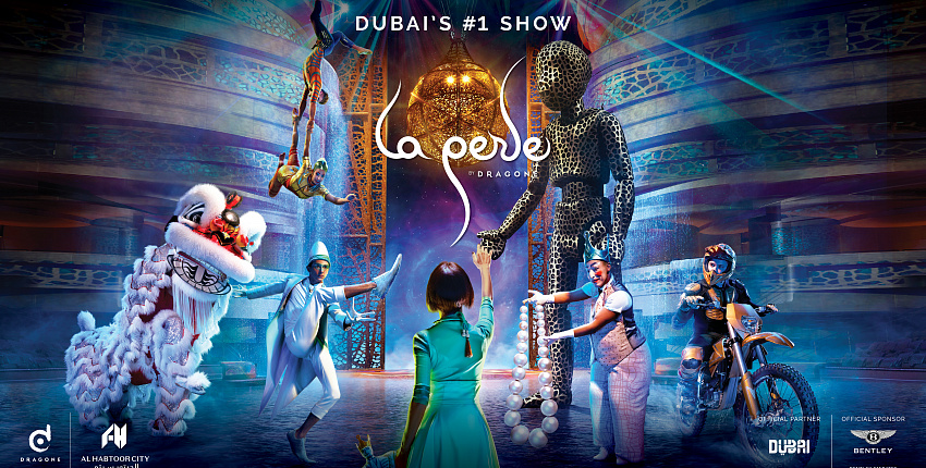 Incredible show La Perle by Dragone