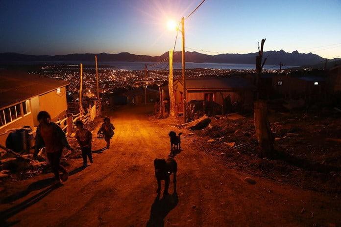 Ушуая - город на краю света, Аргентина, Огненная земля