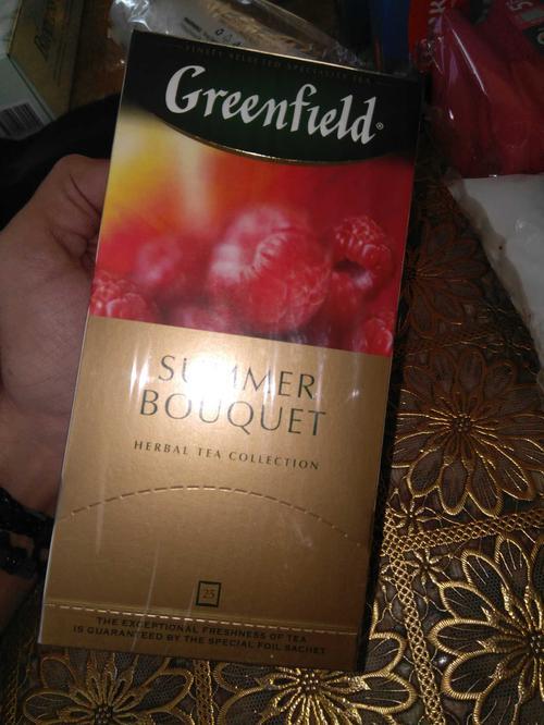 цена Напиток чайный Гринфилд Самма Букет в пакетиках