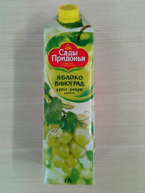 фото3 Сок «Яблоко-виноград»