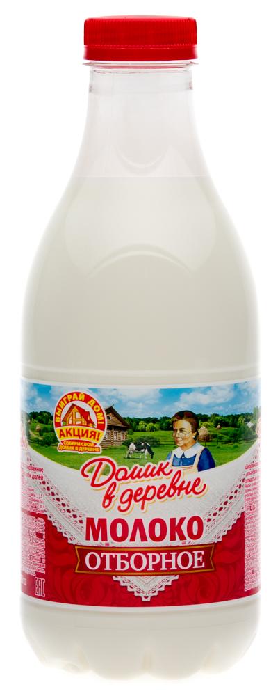 """Молоко """"Домик в деревне"""" 3,5% пастеризованное"""