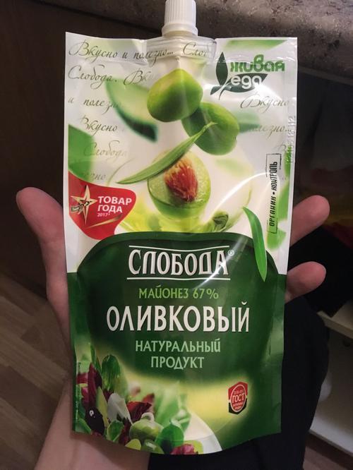 """фото16 Майонез """"Слобода"""" оливковый 67%, 400мл"""