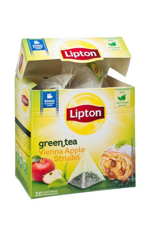 описание Чай зел байх аромат apple strudel c кус яблок 12х20пирх1.4г