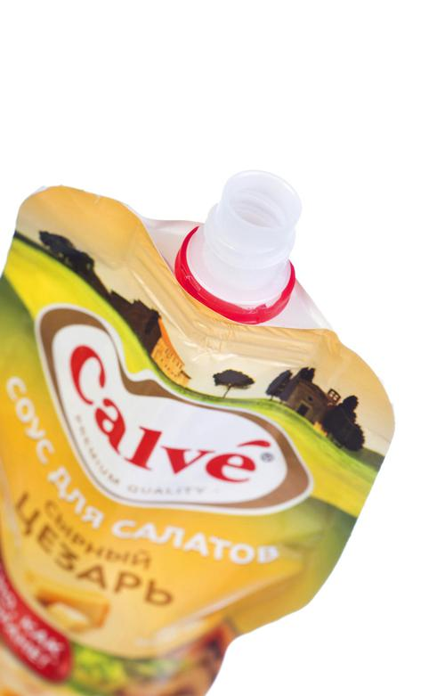 """отзыв Calve """"Сырный Цезарь"""" соус для салатов , 230 гр."""