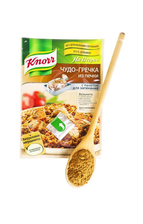 "Knorr На Второе ""Чудо-гречка из печки"""