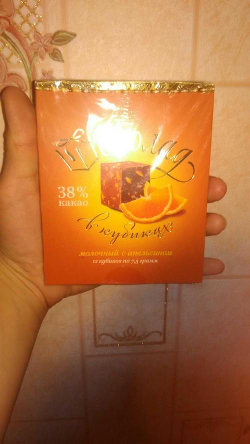 """Шоколад """"o`zera"""" молочный с апельсином 1/90г"""