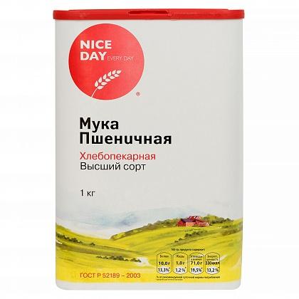 Мука пшеничная хлебопекарная «NICE DAY» сорт Высший