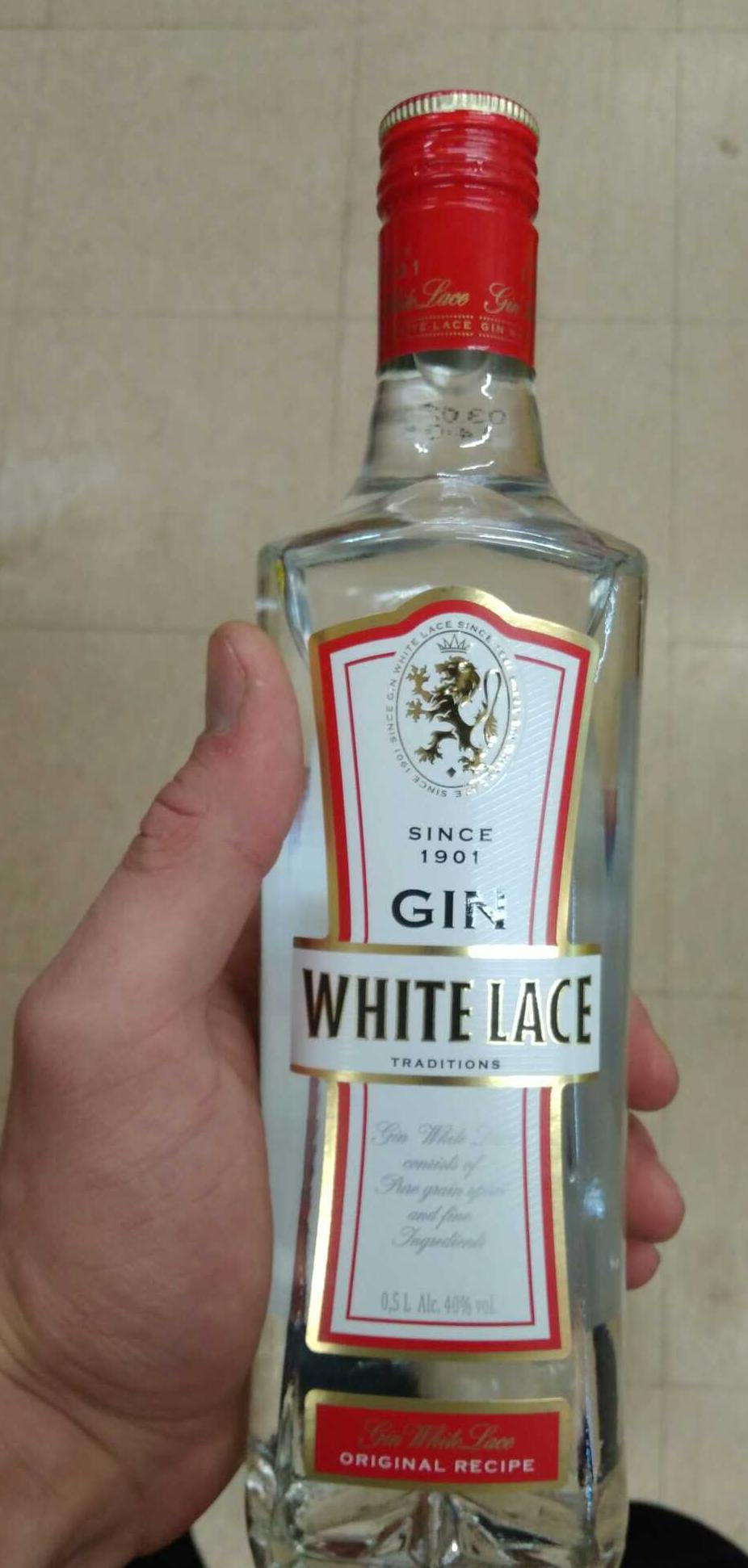 """описание Джин """"Вайт Лейс (White Lace)"""""""