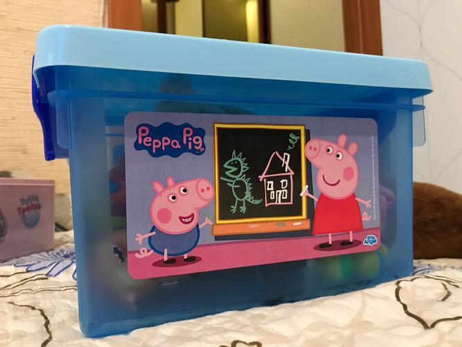 """Детский ящик для хранения мелочей """"Свинка Пеппа"""" 5,1л"""
