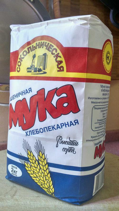 описание Мука пшеничная хлебопекарная «Сокольническая» сорт Высший