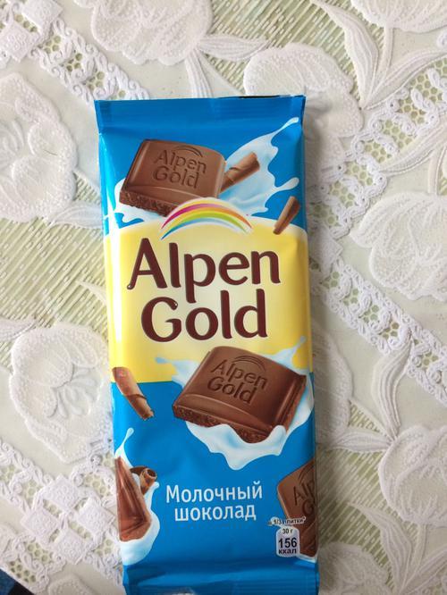 фото16 Шоколад Alpen Gold молочный, 90гр.