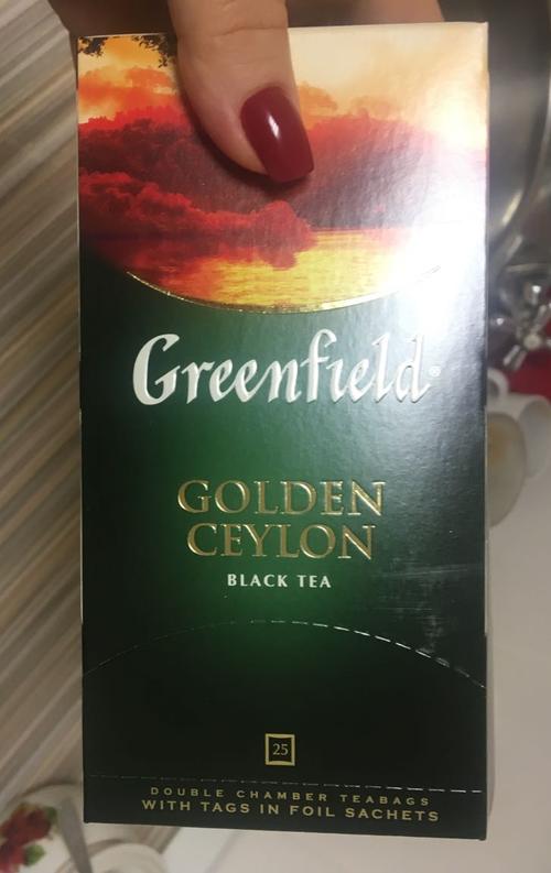 "фото1 Чай черный ""Гринфилд Голден Цейлон"" (Greenfield Golden Ceylon) байховый, 25пак."