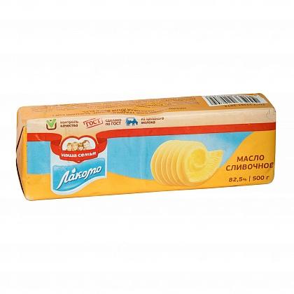 Масло сливочное традиционное. Высший сорт. Массовая доля жира 82.5%