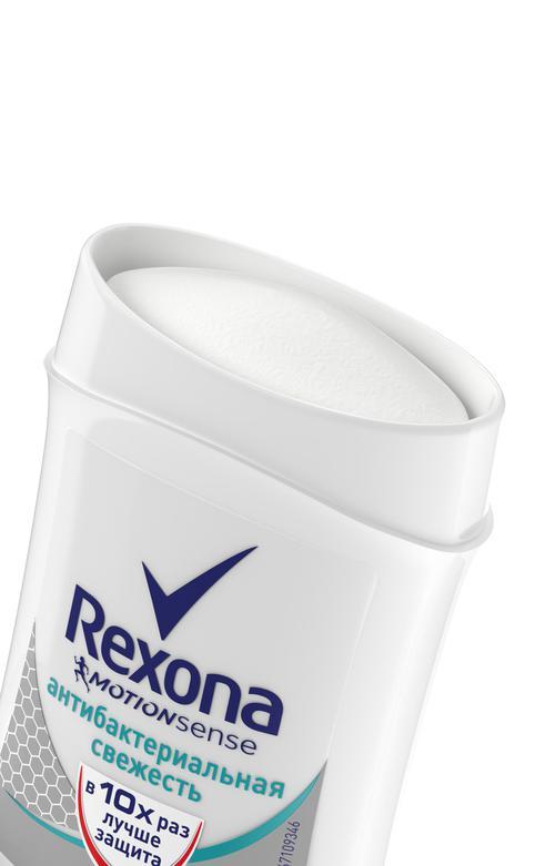 описание Rexona Motionsense Антиперспирант карандаш Антибактериальная свежесть, 40 мл