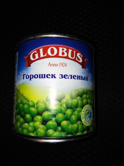 """фото Зеленый горошек Globus """"Нежный"""""""