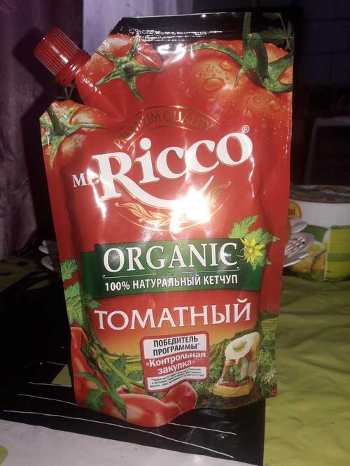 фото6 Кетчуп томатный Pomodoro Speciale Mr.Ricco. Высшая категория. Пастеризованный.