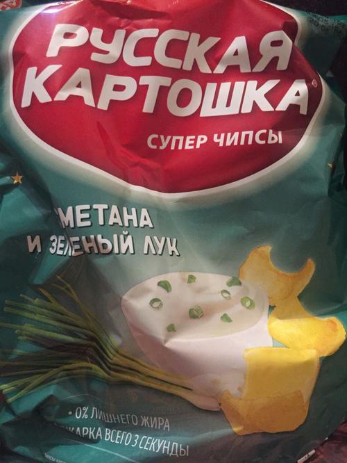 """отзыв Чипсы """"Русская картошка"""""""