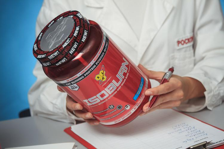 Смесь белковая Isoburn metabolic activating whey isolate bland
