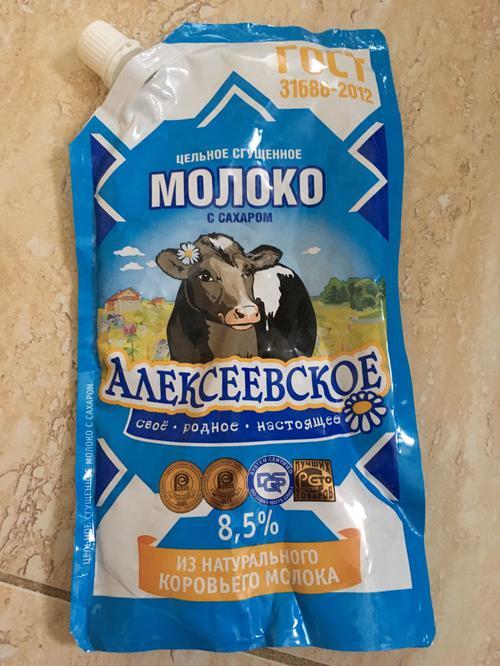"""фото8 Молоко сгущенное """"алексеевское"""" цельное с сахаром 8,5%"""