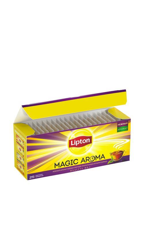 цена Чай Lipton magic aroma