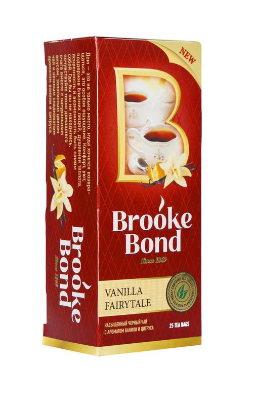 """описание Чай""""Brook Bond"""". Ванильная сказка"""