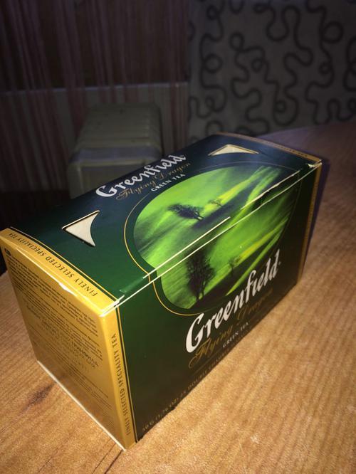фото Чай зеленый байховый Гринфилд Флаинг Драгон в пакетиках