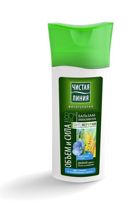 """Бальзам для волос """"ЧЛ"""" 230мл Пшеница д/тонк"""
