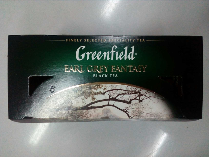 фото4 Чай черный байховый Гринфилд Эрл Грей Фэнтази в пакетиках