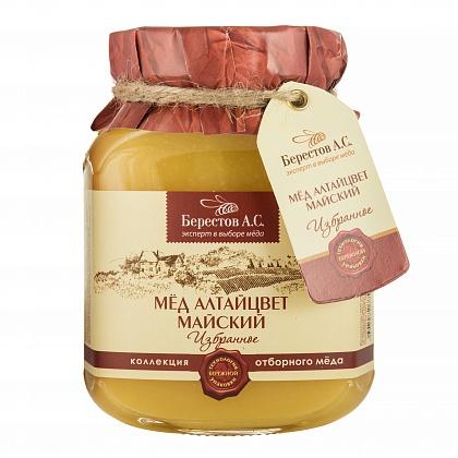 Мёд натуральный цветочный полифлорный Алтайцвет майский
