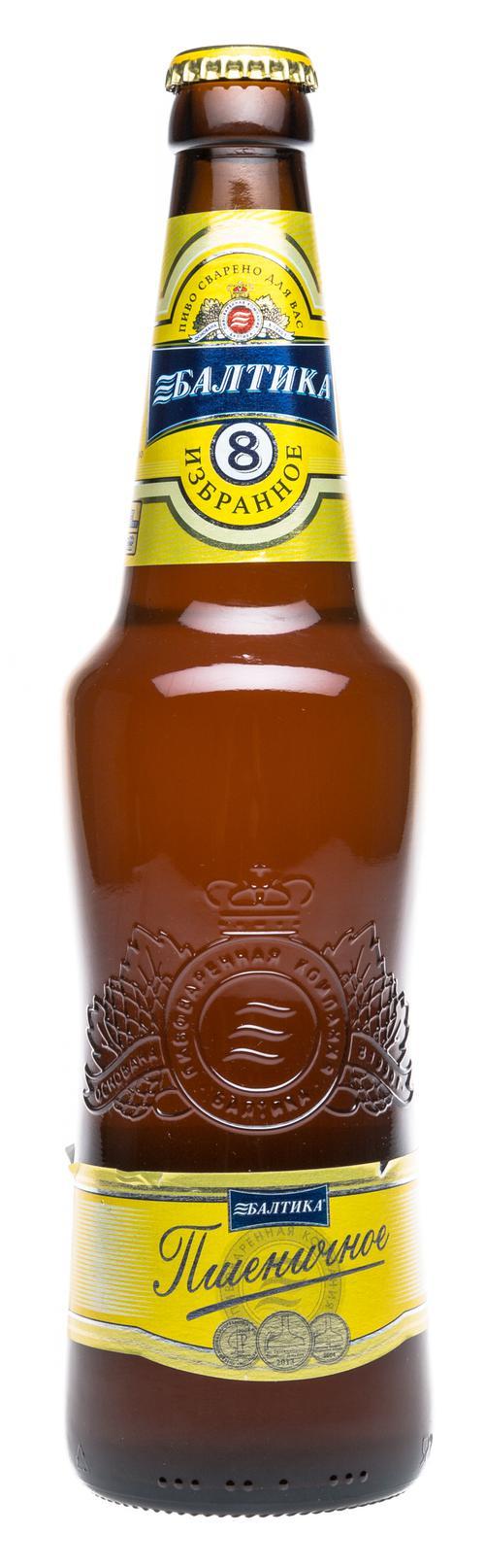 Пиво светлое Балтика Пшеничное №8