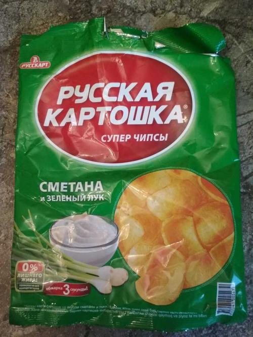 """фото Чипсы """"Русская картошка"""""""