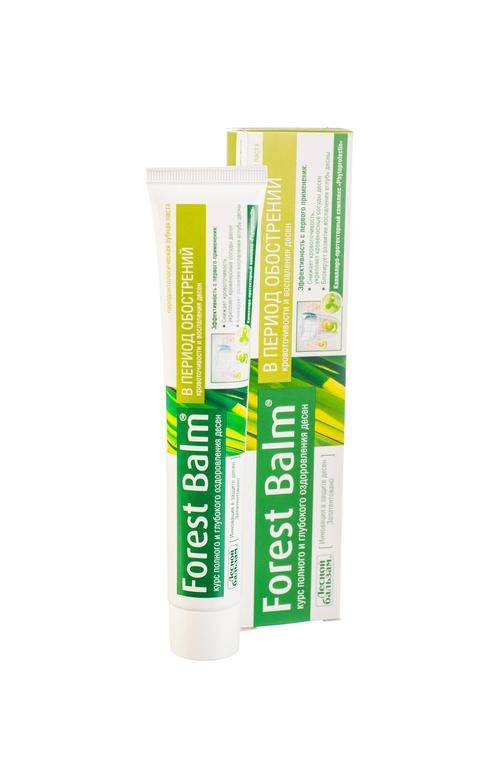 """цена Зубная паста """"forest balm"""" курс питания и восстановления десен"""