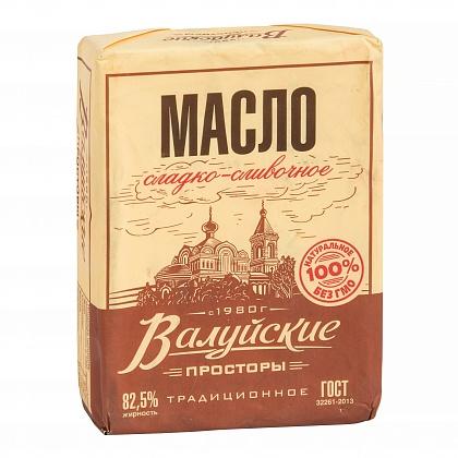 """Масло сладко-сливочное несолёное традиционное. """"Валуйские просторы"""""""