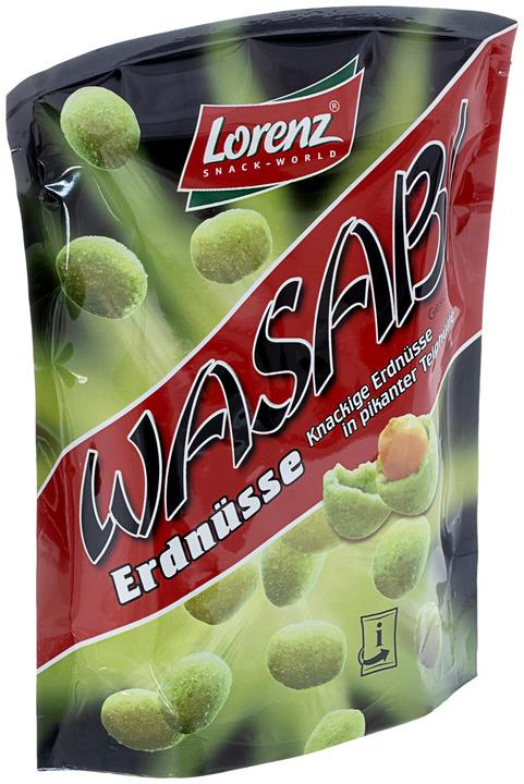 Арахис Lorenz в хрустящей оболочке со вкусом хрена Васаби 100г