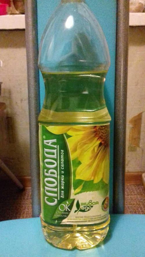 фото30 Масло подсолнечное Слобода рафинированное дезодорированное, 1л.