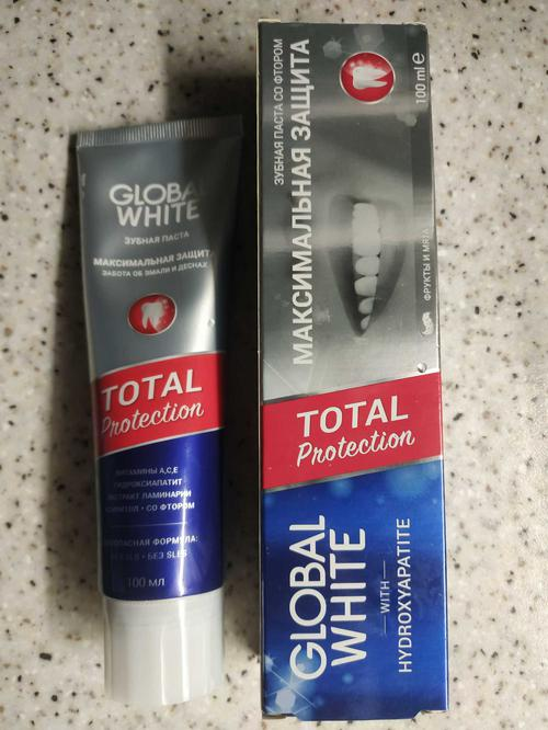 "Паста зубная витаминизированная ""vitaminizing toothpast global white"" глобал вайт"