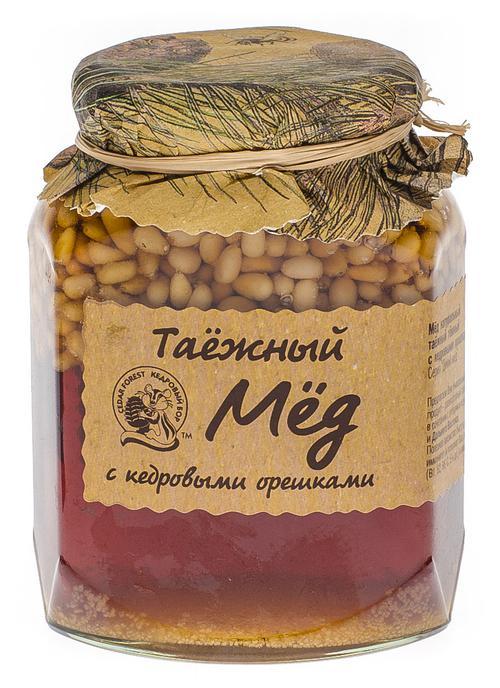 Ядро кедрового ореха в меду