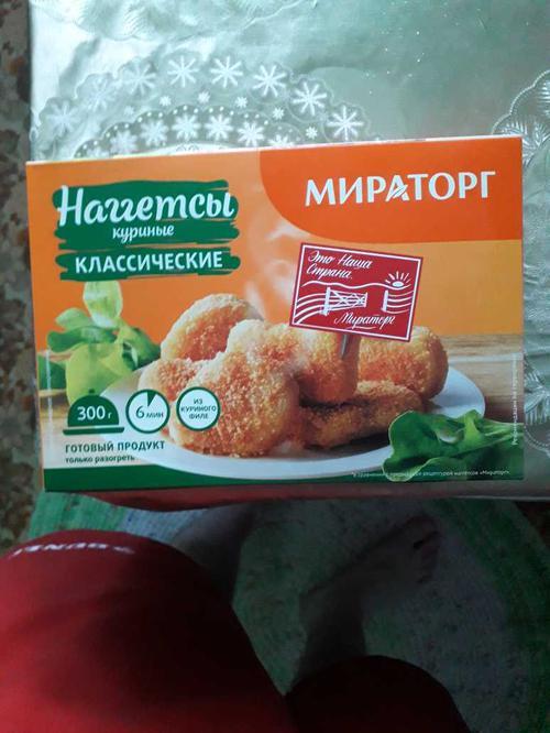 """фото2 Наггетсы """"Мираторг"""" куриные"""