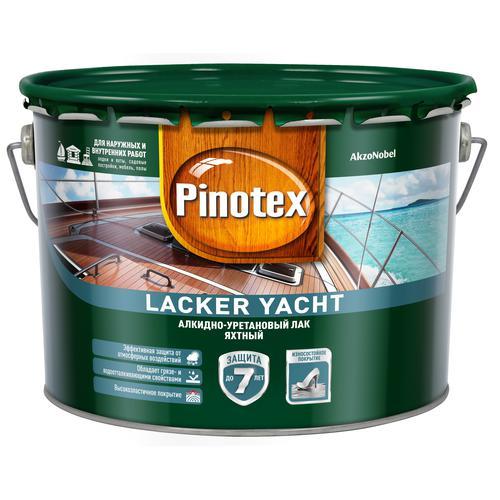 Лак Pinotex лакер яхт полуматовый яхтный 9л