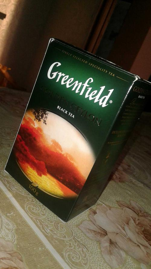 стоимость Чай Greenfield Golden Ceylon чёрный листовой цейлонский
