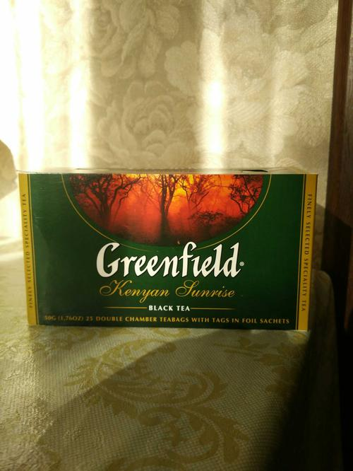 фото1 Чай черный байховый Гринфилд Кениан Санрайз в пакетиках