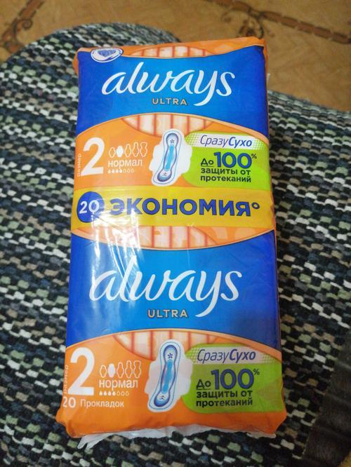 """отзыв Гигиенические прокладки """"Always ultra"""" DUO, Normal plus, 2х10 шт."""