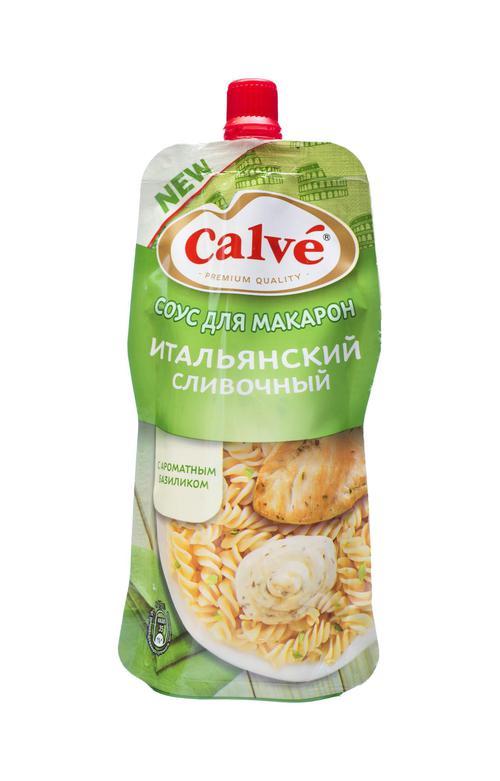 цена Calve соус для макарон итальянский сливочный