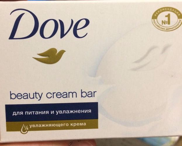 фото7 Крем-мыло DOVE красота и уход, 135г