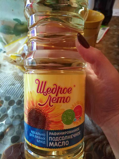 описание Масло Щедрое лето подсолнечное рафинированное дезодорированное вымороженное, первый сорт