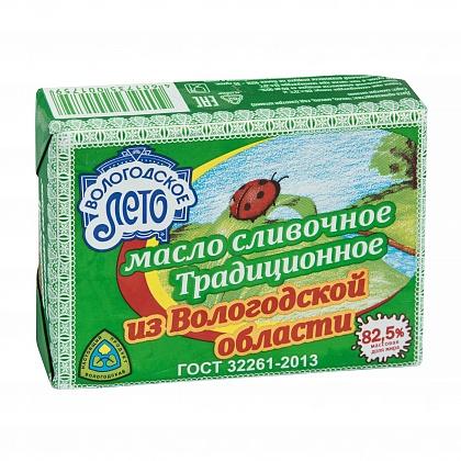 Масло сливочное традиционное из Вологодской области