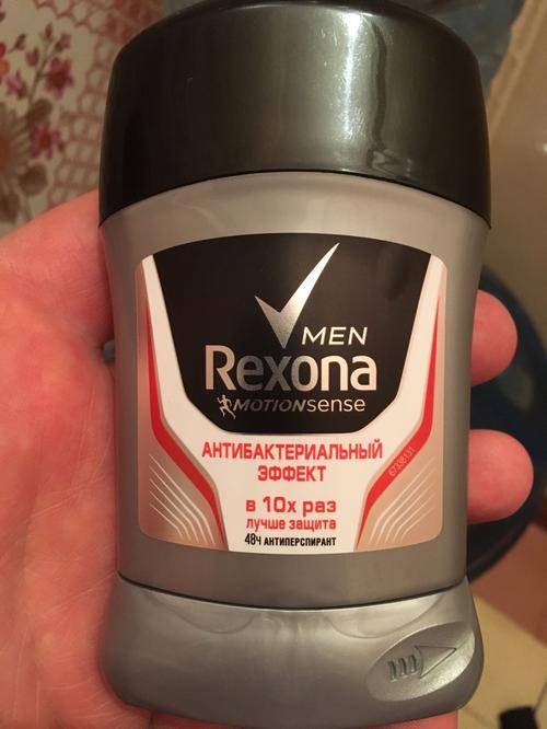 Антиперспирант-карандаш Rexona антибактериальный эффект