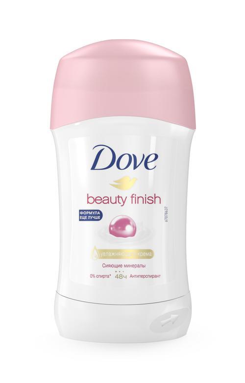 Dove. Beauty finish.