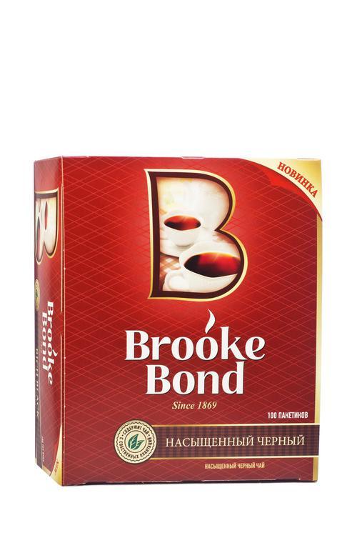 цена Чай Brooke Bond (Unilever), черный байховый
